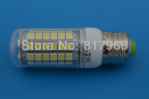 NEW 15W E27 LED Lamp   LED Corn Bulb 5050 69 1100LM  220v Cold white / Warm White Light Bulb Lamp
