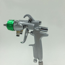 SAT1189 free shipping nano chrome painting dual head pneumatic sprayer hot on sales double nozzle spray gun(China (Mainland))
