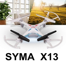 2016 Original Syma X13 New Hot Drones RC Quadcopter 6-axis 2.4GHz 4CH RC Helicopter Drone RTF Remote Control 3D Flips Toy Vs x5c(China (Mainland))
