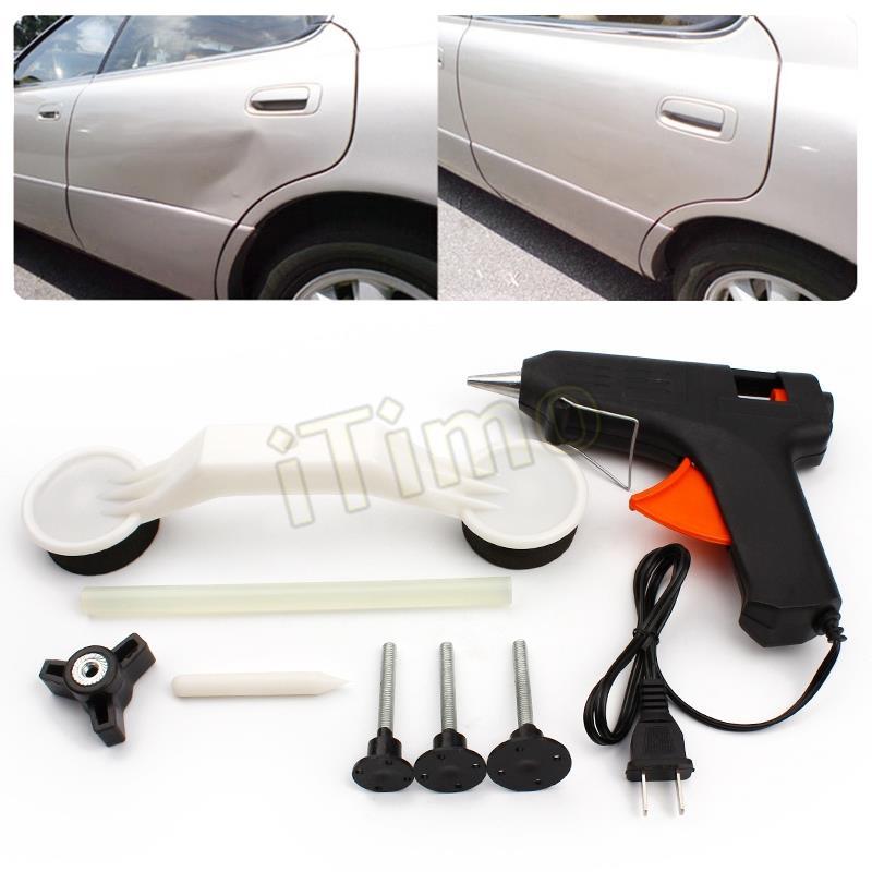 Новый горячая распродажа автомобиля для укладки покрытия ремонт повреждений средство для удаления пистолет DIY краска уход ремонт автомобилей инструментов # iTimo