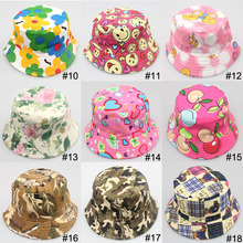 200pcs/lot Bucket hat for Kids
