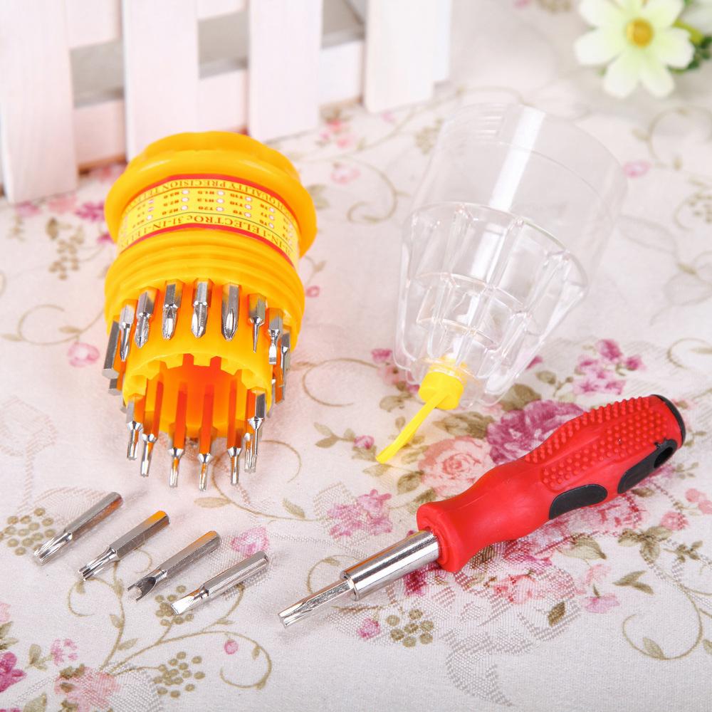 Precision 31 In 1 MIni Magnetic Screwdriver Tool Set hand tools Screwdrivers Kit Opening Repair Phone Tool(China (Mainland))