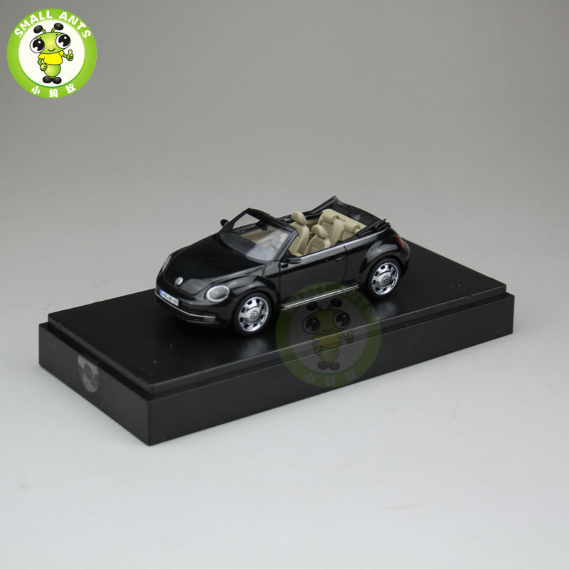 1:43 Scale VW Volkswagen beetle Cabriolet Diecast Car Model Toys Black(China (Mainland))