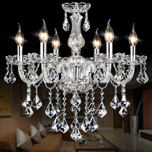 Updated More High Crystal Chandelier Lustre Crystal Chandeliers 4/6/8/10/12/15/18 Arms Lustres De Cristal Chandelier LED (China (Mainland))