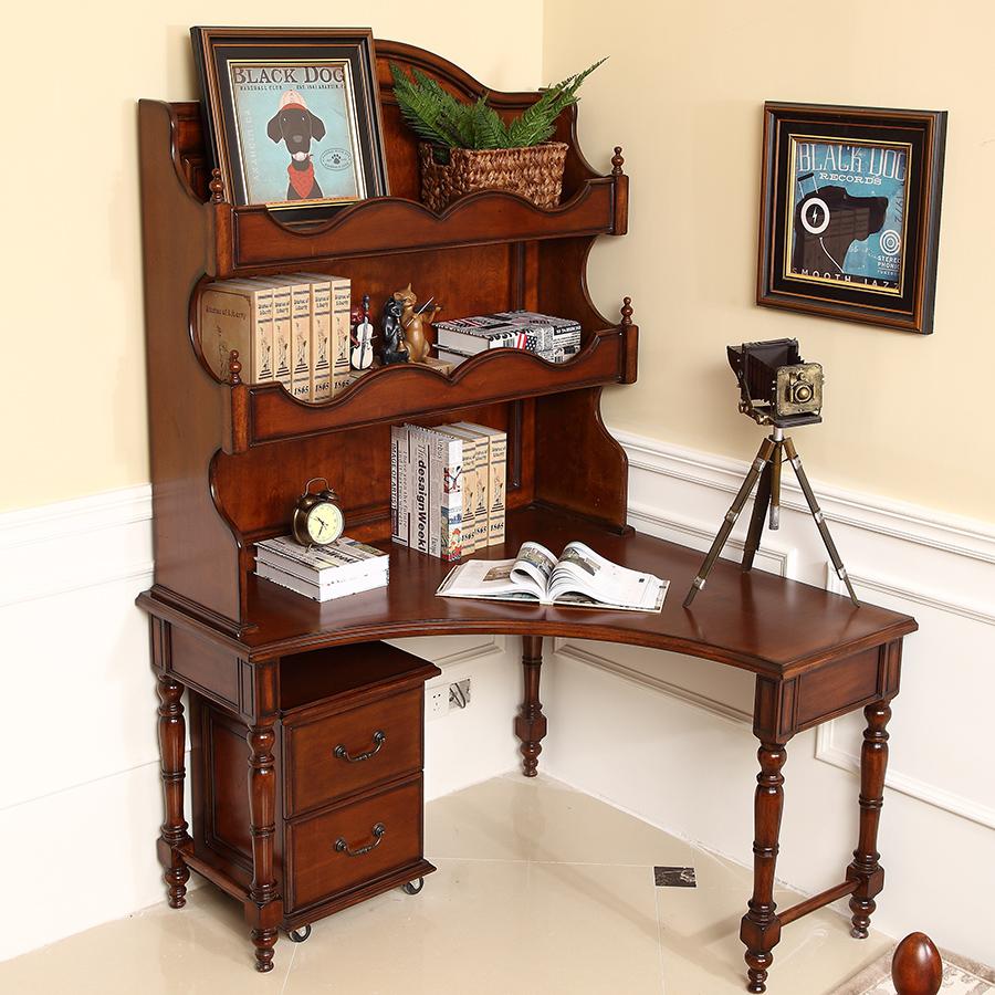 Achetez en gros cerisier am ricain meubles en bois en for Meuble d ordinateur bureau en gros