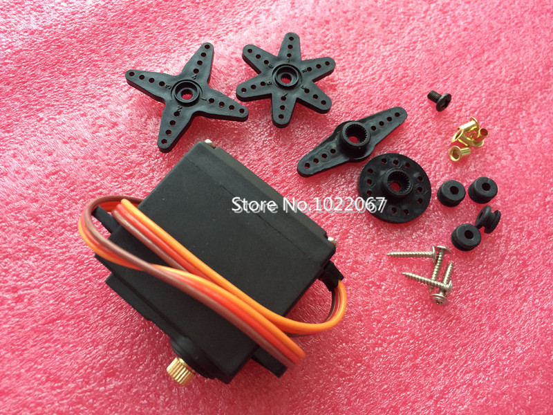 free shipping by HK post !!MG996R MG996 Metal Gear RC Servo High Speed & Torque RC CAR 1/8(China (Mainland))