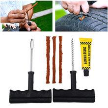 1 Set Auto Car Tire Repair Kit Car Bike Tubeless Tire Repair Tool Tire Puncture Plug Repair Tool Diagnostic-tool Car Accessories(China (Mainland))