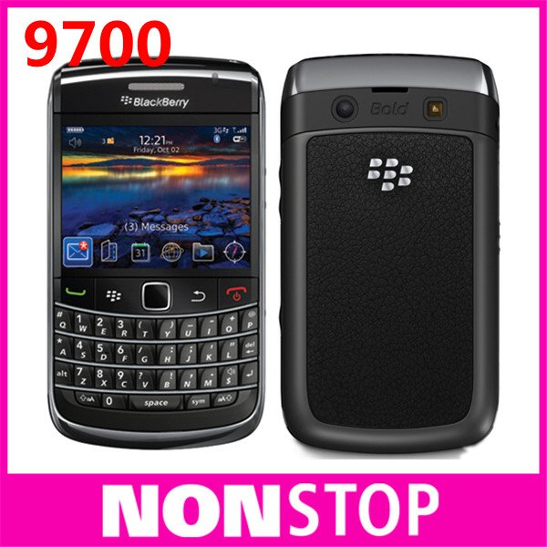 Unlocked Original Blackberry Bold 9700 Cell Phone 3pcs/lot(China (Mainland))