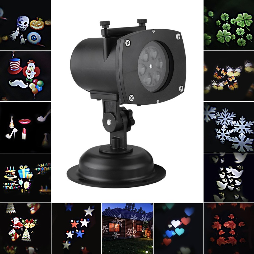 Outdoor lighting decoration halloween christmas projector for Projecteur laser pour exterieur