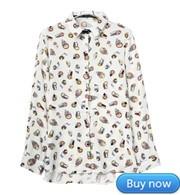 Блузки С Совами Купить В