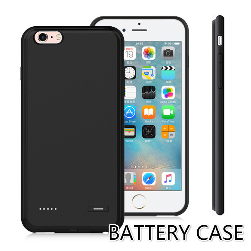 Backup External Charger Battery Case For iphone 6 plus iphone 6S plus Power Case Cover Mobile Cell Phone Fit Portable Ultra Thin(China (Mainland))