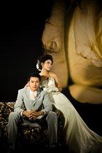 The latest Korean wedding photography studio photography theme background photo background cloth fabric roses Photography