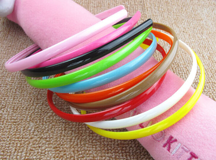 GR Jewelry Hot Wholesale Lovely Bright Candy Color Hair Band Women Hair Accessory(China (Mainland))