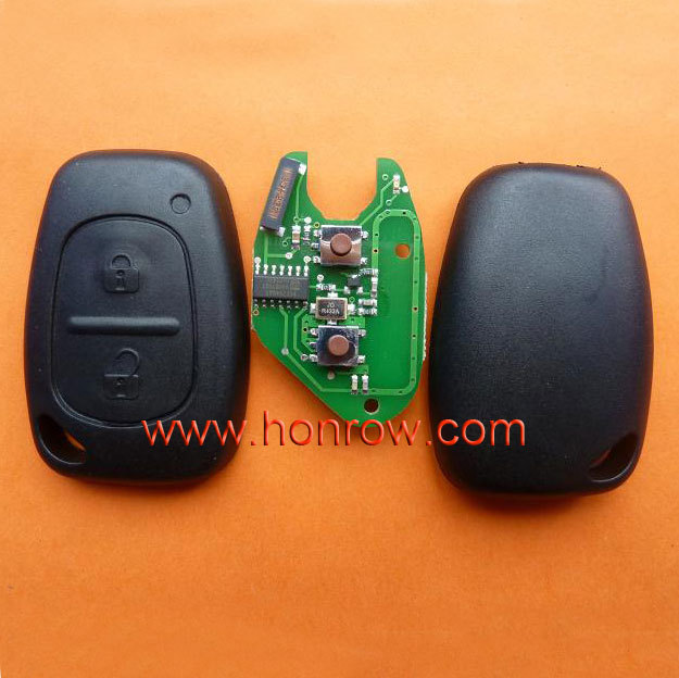 Renault Clio&amp;Kango 2 button remote key with 433Mhz and 7946 Chip (After 2000 year car)<br><br>Aliexpress