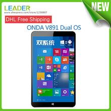8.9 дюймов Onda V891 двойной ос Windows 8.1 и 4.4 оригинал планшет PC Intel Z3735F четырехъядерных процессоров 2 ГБ 32 ГБ HDMI внешний 3 г таблетки