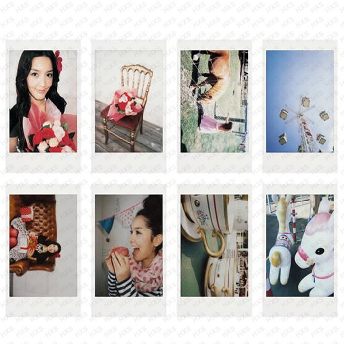 ถูก แท้50แผ่นสีขาวขอบฟูจิFujifilm Instax Mini 8ภาพยนตร์สำหรับ8 50วินาที7วินาที7 90 25 s HARE SP-1กล้องทันทีอย่างรวดเร็วฟรีการจัดส่งสินค้า