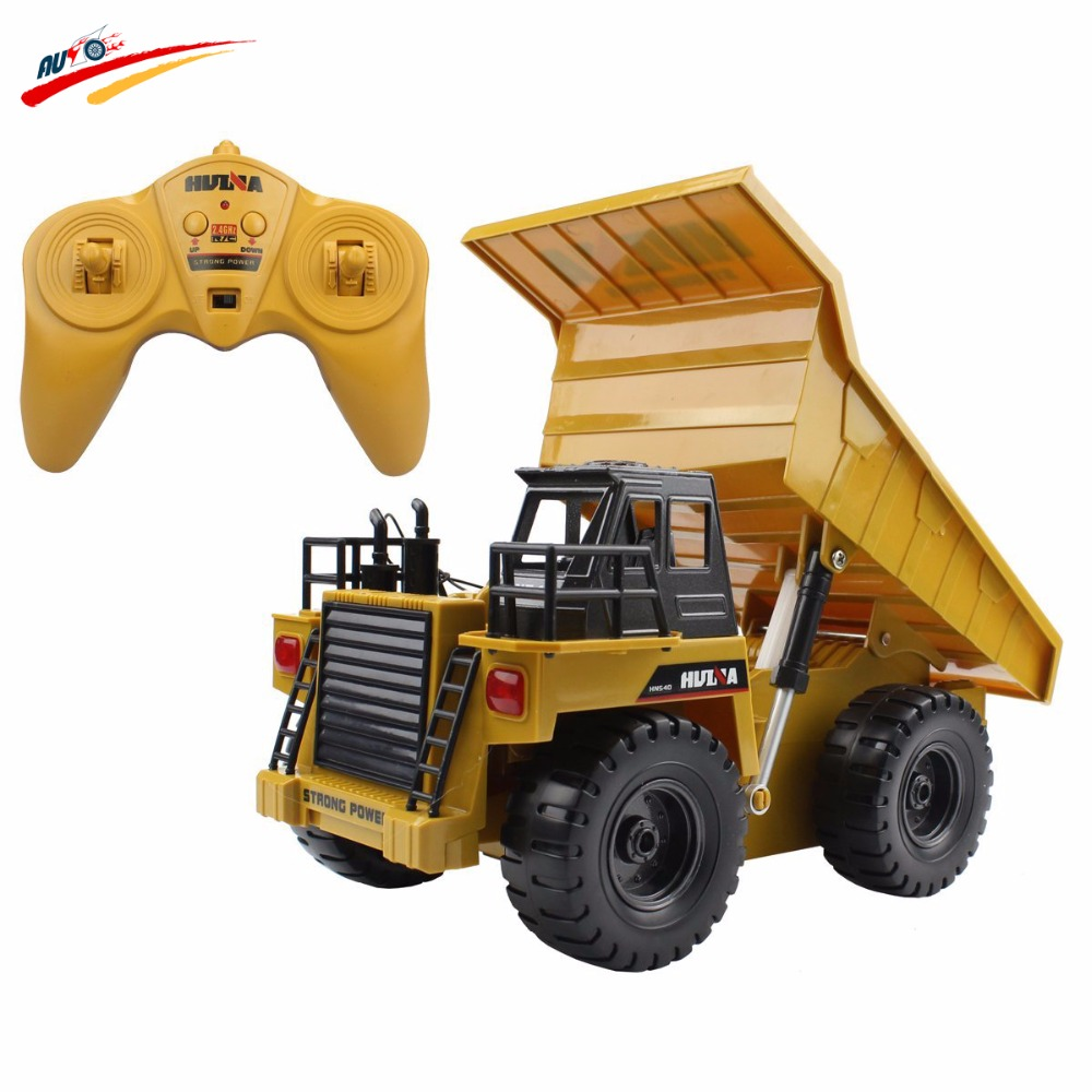 Dump Truck Control : G rc truck alloy channel remote control mine dump