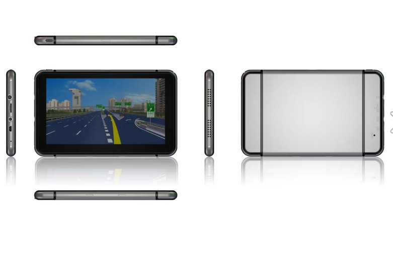 HD 800*480 7 inch GPS Navigator without BLUETOOTH&AV IN 4GB DDR 128M load new 3D map(China (Mainland))