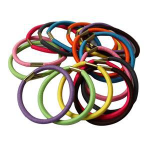 1Korean Girl Elastic Hair Multicolor Band Rope Scrunchie Ponytail Holder Bands - CLOTHES FOR WOMEN store
