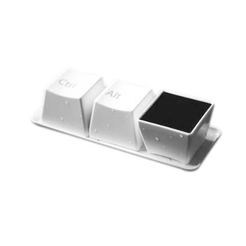 2015 Best Sale Ctrl Alt Del Keyboard Coffee Cup Set White Set
