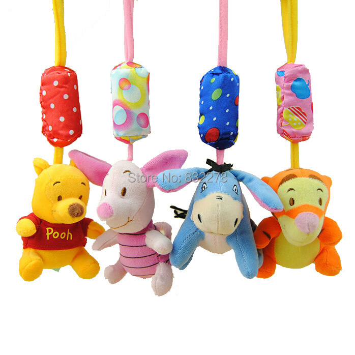 High quality Baby stroller Hanging toys Plush Animal Campanula baby rattles mobile musical classic toys Good gifts brinquedos(China (Mainland))