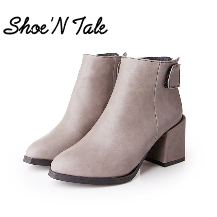 New Chelsea Fashion Boots Pointed Toe Ankle Boots Comfortable Motocyle Sexy Ladies Boots Women Winter Snow Boots(China (Mainland))