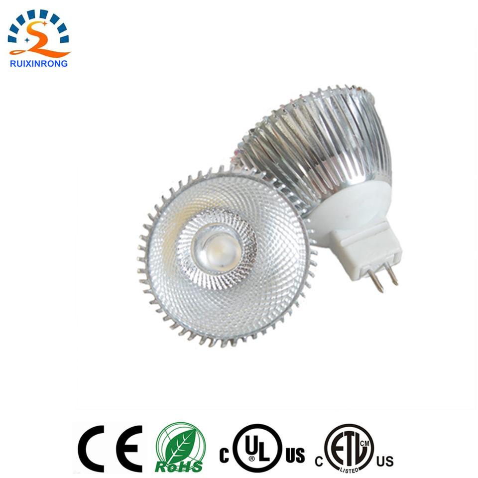 1pcs E27 GU10 MR16 5W warm white COB Led bulb LED spotlight lamp Dimmable 12v DC 220V 110V AC CE RoHs(China (Mainland))