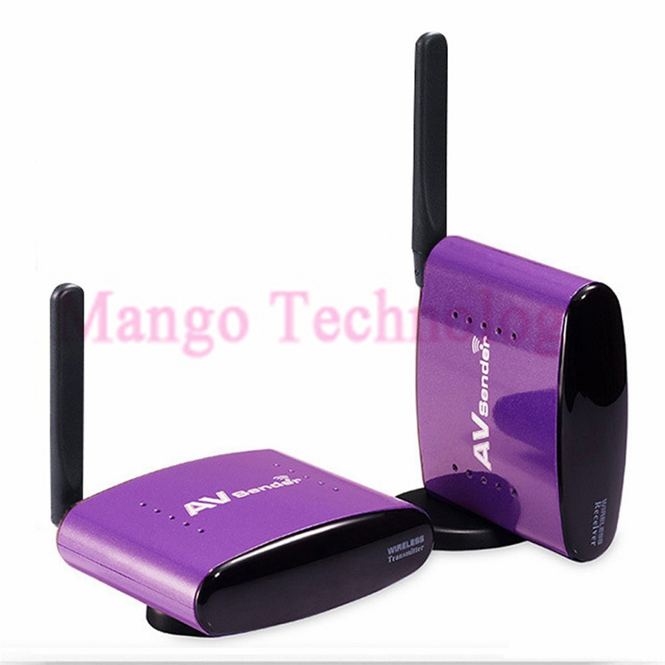 2016 New PAT-650 5.8GHz 300m Wireless STB AV Sender TV Audio Video Transmitter & Receiver Set for IPTV DVD With EU US UK AU Plug(China (Mainland))