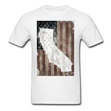 Buy California USA Flag Men's T-Shirt Brand Cotton Shirt Summer Style Cool Shirts Male Battery Funny Cotton Tops for $12.34 in AliExpress store