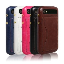 Slim Leather Case Thin Back Cover Wallet With Business Card Compartment Holder Premium Accessory For BlackBerry classic Q20(China (Mainland))