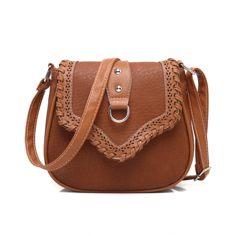 2015 Vintage Women bag Lady PU Leather Cross Body messenger Shoulder Bags Handbags Women Famous Brands sac a main Bolsa Feminina