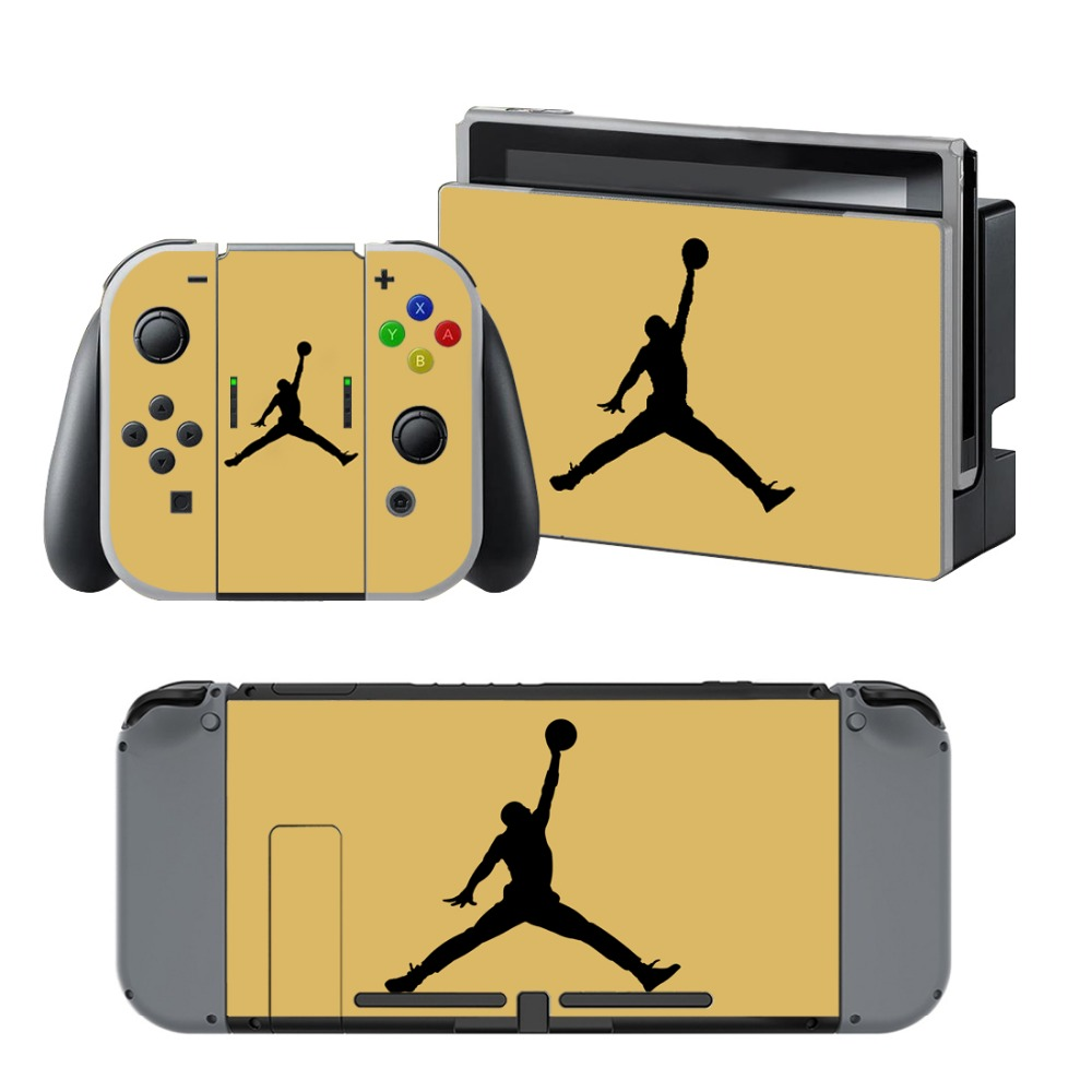 Newly Arrival Vinyl Skin Sticker for Nintendo Switch Console Protector Cover Decal Vinyl Skin for Skins Stickers 0169
