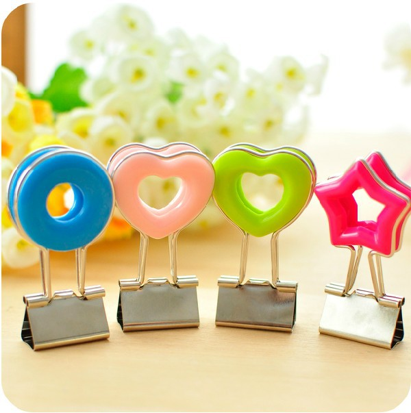Lovely colorful metal clip / memo holder / Paper clip / message clip / tail purse Clip / Free shipping<br><br>Aliexpress