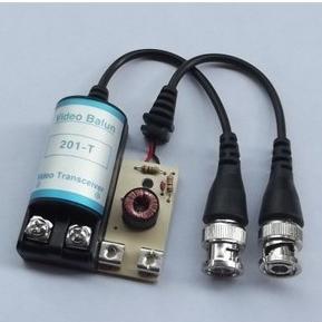 200pc CCTV Passive Video Balun Transceiver BNC Cat5 LLT-201C (100 Pairs) + Free shipping #07Y(China (Mainland))