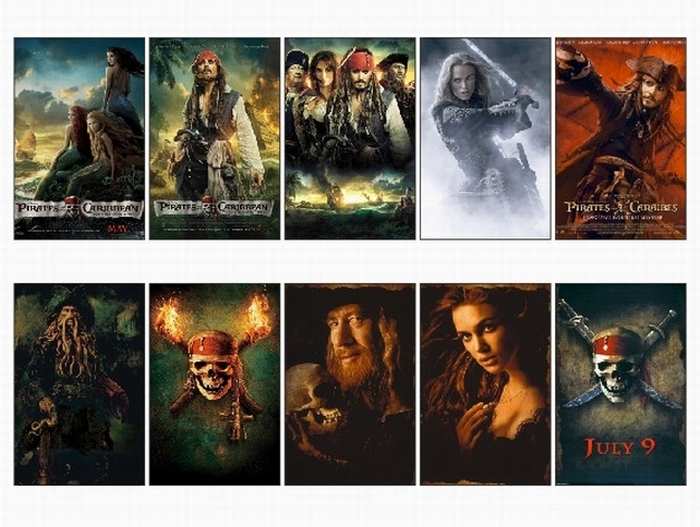 Complete Pirates of the Caribbean Series watch online Full English Movies *BluRay*