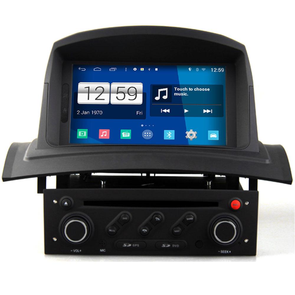 1024*600 android 4.4.4 Car video player case for Renault Megane II dvd gps navigation renault megane 2 Radio audio bluetooth(China (Mainland))