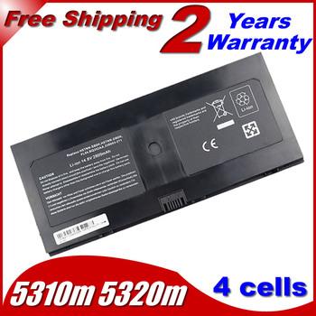 laptop battery For HP/Compaq ProBook 5310m 5320m 580956-001 538693-271 HSTNN-SBOH HSTNN-DB0H HSTNN-C72C 538693-961 FL04 FL04041