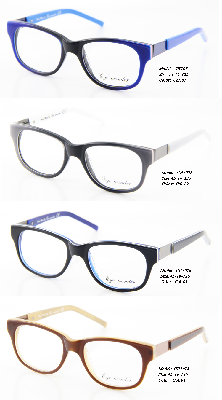 Blue Black Glasses Frames : Eye Wonder Kids Eyewear Glasses Brown Blue Black Vintage ...