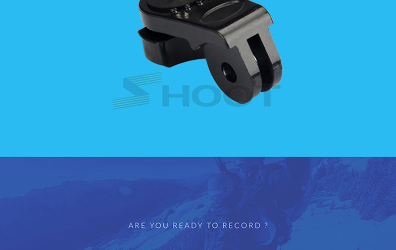 2016 Dome Gopro Camera Accessories For Sony AS200v Xiaomi Yi SJ4000 SJ5000 Cam AEE Acessorios Go Pro 3 Wholesales Action Cameras