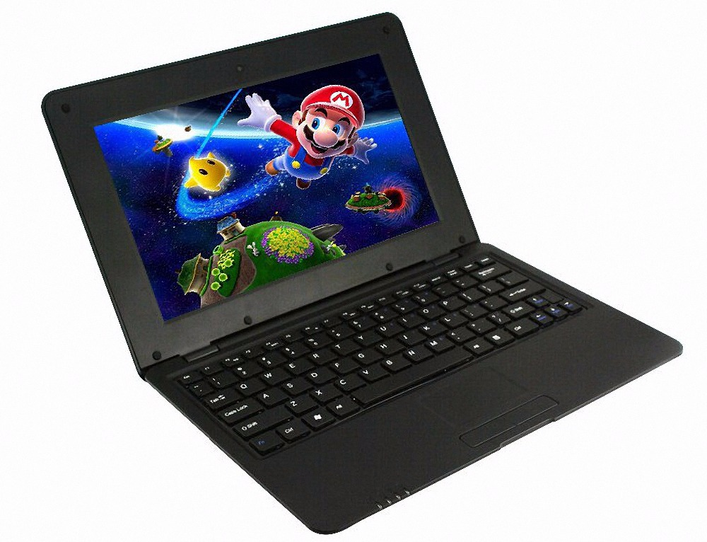 Original Dual Core 10.1 Inch notebook Android laptop HDMI Laptop Android 4.4 VIA 88801.5GHZ Bluetooth Wi-fi Mini Netbook(China (Mainland))