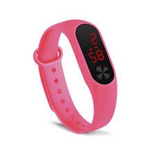 Relógio Digital de Relogio relógio das Mulheres dos homens Relógios montre homme Inteligente Anel da Mão relógio Do Esporte Relógios Led Moda Sports eletrônico(China)