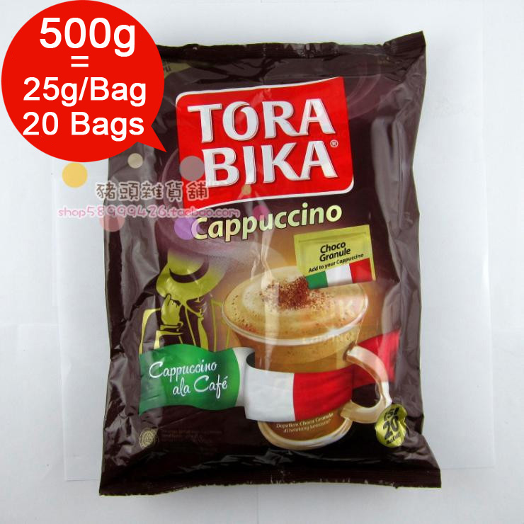 1 Box 20 Bags 25g Bag Torabika Cappuccino Instant Coffee Slimming Green Coffee