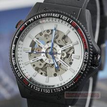 Ganador mens relojes mecánicos del reloj personalidad chicos moda para hombre totalmente automático j088