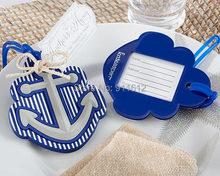 20 PCS/LOT Anchor Luggage Tag Wedding Bridal shower favors Free Shipping(China (Mainland))