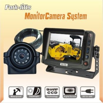 5 Inches Fork-lift Reverse Monitor Camera System, Rearview Backup Camera System, CCTV Camera Kit(China (Mainland))