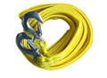 4M 5 Tons Car Tow Rope Thicker Cable Towing Strap with Steel Hooks Emergency Heavy Duty