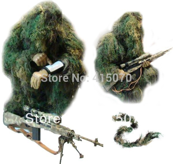 FREE 3D innoviation ghillie poncho ghillie suit for hunting birdwatching photography huntin clothing camouflage net purpose camo