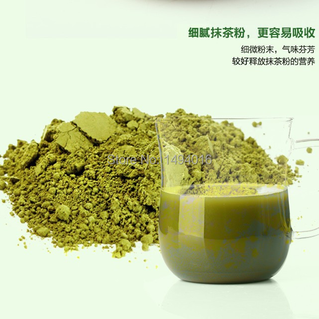 100g per bag matcha green tea powder milk oolong chinese green blooming lotus tea blooming flower tieguanyin dahongpao new age(China (Mainland))