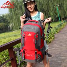 Oxford Unisex Backpack Casual Sport Double Shoulder Bag Solid Zipper Hiking bag Waterproof Hongma Fashion Travel Duffel Bag(China (Mainland))