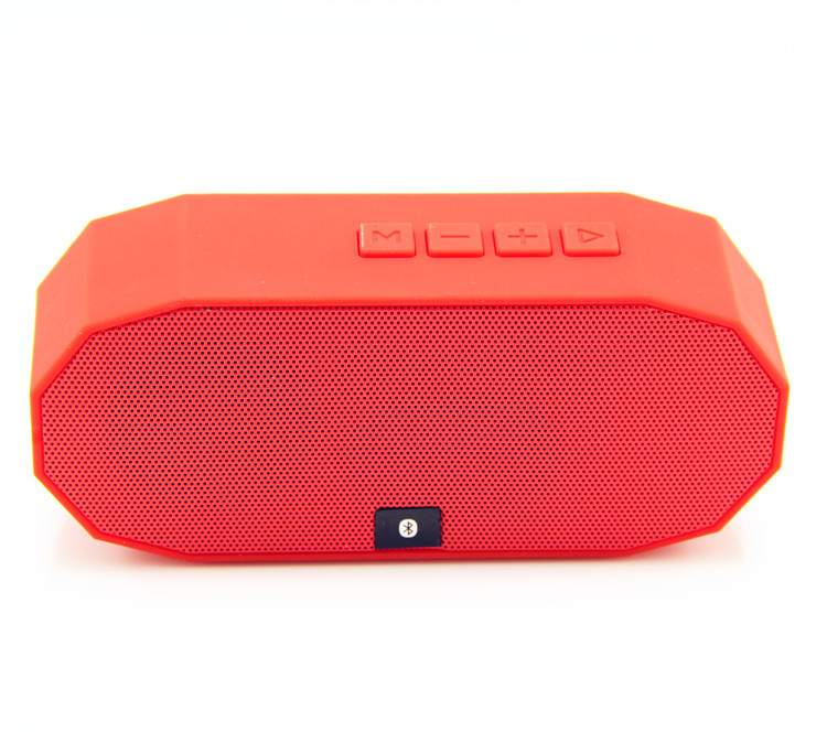 Red Mini A3 Bluetooth Speaker Portable Wireless Handsfree TF FM Radio Built in Mic MP3 Subwoofer with Detachable Battery(China (Mainland))
